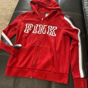 VS PINK LimitedEdition Red/Black/Gray Size Medium